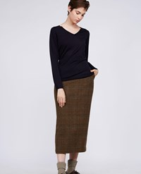 Aspesi Wool Sweater Navy Blue