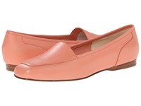 Enzo Angiolini Liberty Fresh Coral Leather Leather Women's Flat Shoes Orange