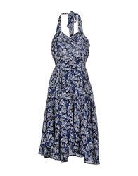 Lavand. Dresses 3 4 Length Dresses Women Dark Blue