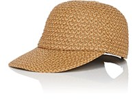 Eric Javits Home Run Baseball Cap Beige Tan