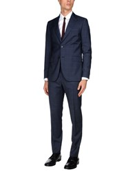 Tombolini Suits And Jackets Suits Slate Blue