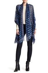 Theodora And Callum Birds Of A Feather Wrap Blue