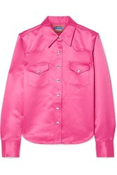Acne Studios 2002 Satin Shirt Pink