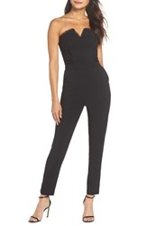 Harlyn Strapless Jumpsuit Black