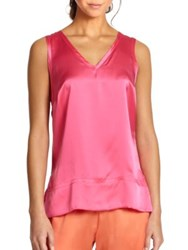 Josie Natori Essential Silk Tank Top