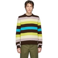 Acne Studios Multicolor Striped Kai Sweater