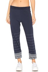 Lauren Moshi Gia Long Sweatpant Blue