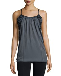 Nux Voyage Racerback Bra Camisole Charcoal