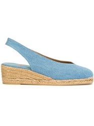 Castaner Castaner 'Amara' Denim Sandals Blue