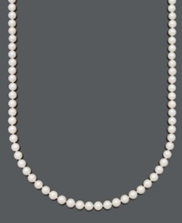 Belle De Mer Pearl Necklace 20' 14K Gold A Cultured Freshwater Pearl Strand 7 1 2 8Mm