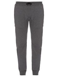 Belstaff Farlane Cotton Jersey Track Pants Light Grey