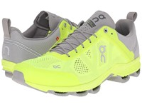 Cloudsurfer Neon Grey Men's Running Shoes Yellow