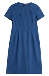Jil Sander Cotton Sheath Dress