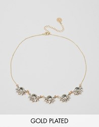 Johnny Loves Rosie Johnny Loves Rose Dee Statement Choker Necklace Gold