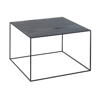 By Lassen Twin Table Black And Cool Grey Large