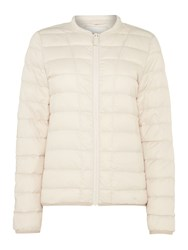 Part Two Lightweight Quilted Coat Off White