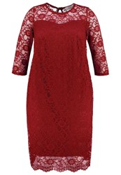 Dorothy Perkins Curve Cocktail Dress Party Dress Red Dark Red