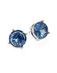 Lauren Ralph Lauren Cobalt Crystal Earrings Blue
