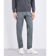Hugo Boss Slim Fit Tapered Chinos Dark Green