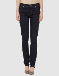 Jil Sander Navy Denim Pants Blue