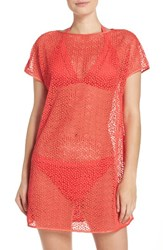 Ted Baker Women's London Cover Up Tunic Bright Orange