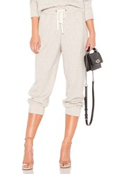 James Perse Relaxed Luxe Sweat Pant Light Gray
