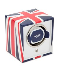 Wolf The Special Edition Union Jack Navigator Cub Single Watch Winder