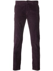 Department 5 Corduroy Trousers Pink And Purple