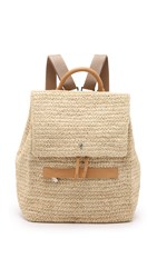 Helen Kaminski Cafaro Backpack Natural