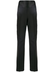 Tom Ford High Waisted Tailored Trousers Black