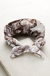 Anthropologie Nova Bow Headband Grey