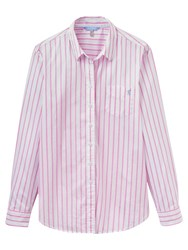 Joules Lucie Stripe Shirt Pink Stripe