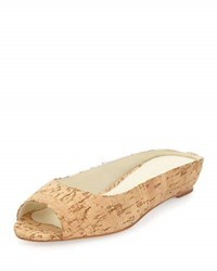 Bettye Muller Tangier Slip On Wedge Sandal Cork W Go