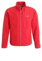 Lacoste Summer Jacket Red