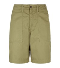 Our Legacy Army Twill Shorts Green