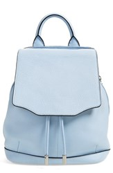 Rag And Bone Rag And Bone 'Mini Pilot' Quilted Leather Backpack Blue Light Blue