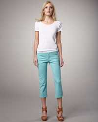 Christopher Blue Jackie Cropped Jeans Women's