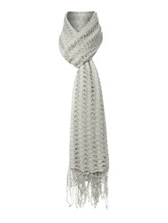 Dickins And Jones Cut Out Scarf Grey