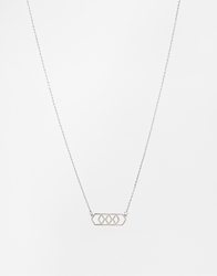 Selected Necklace Silver