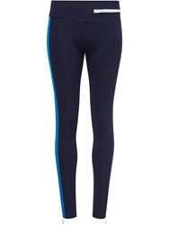 Paco Rabanne Two Colors Legging Blue