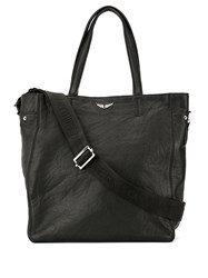 Zadig And Voltaire Dottie Tote Bag Black