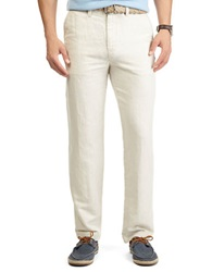 Nautica Linen Cotton Pants Wheat Flax
