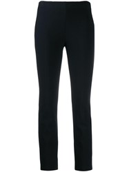 Vince Slim Fit Trousers Blue