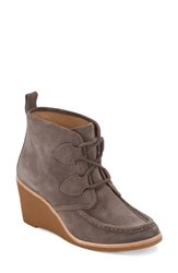 G.H. Bass Women's And Co. Rosa Wedge Bootie Charcoal Suede