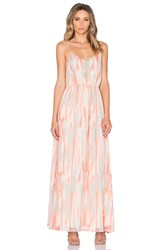 Jack By Bb Dakota Hildy Maxi Dress Peach