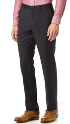 Shipley And Halmos Grand Pique Pants Navy