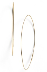 Lana 'Magic' Large Oval Hoop Earrings Yellow Gold