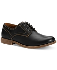 Calvin Klein Jeans Parry Plain Toe Oxfords Men's Shoes Black