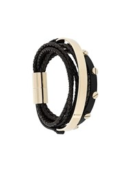 Givenchy Layered Bracelet Black