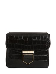 Givenchy Small Nobile Croc Embossed Leather Bag